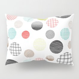 Drawn Circles Pillow Sham