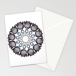 Anime Mandala Stationery Cards