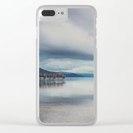 reflections in the water ...  Clear iPhone Case
