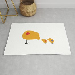 Sunny Family Mom and Kids Rug