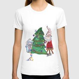 Gnoming Around the Christmas Tree T-shirt