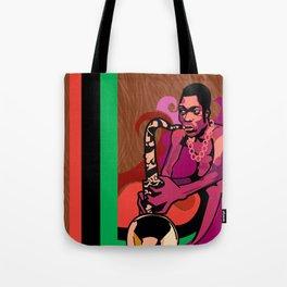 Black President Tote Bag