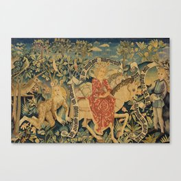 Two Scenes from Der Busant Canvas Print