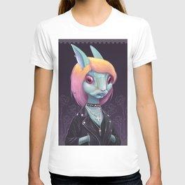 Follow the green rabbit T-shirt