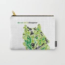 Wolf - do not let it disappear Carry-All Pouch