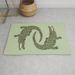 Crocodiles (Camo Palette) Rug