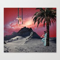 chill Canvas Prints featuring Chill by Liall Linz