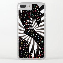 Mystical night Clear iPhone Case