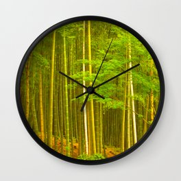 Boundless Bamboo Wall Clock
