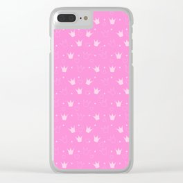 Kitty Vespa Clear iPhone Case