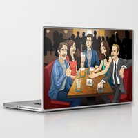 how i met your mother Laptop & iPad Skins featuring How I Met Your Mother by Michael Duhamel