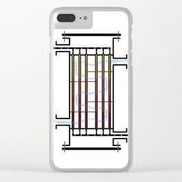 Counterflow Heat Exchanger Clear iPhone Case