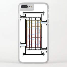 Counterflow Heat Exchanger Clear iPhone Case