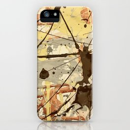 Miniature Original - Brown nuetral iPhone Case