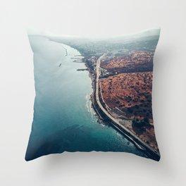 Above Amathus Throw Pillow