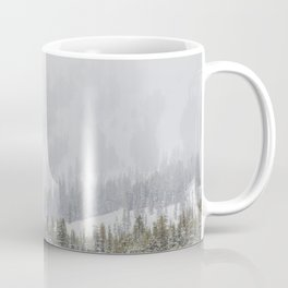 Snow Covered Forest Coffee Mug