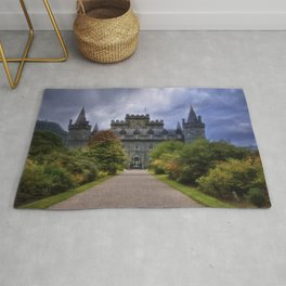 Night at the Castle Rug