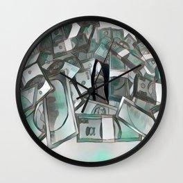 Counterfeit ice Wall Clock