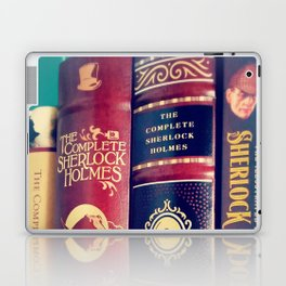 Library of Sherlock Holmes Laptop & iPad Skin