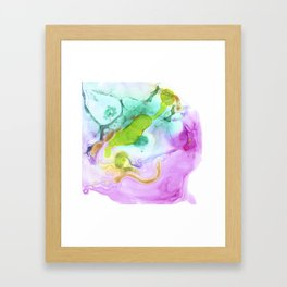 Caribbean Sea Framed Art Print