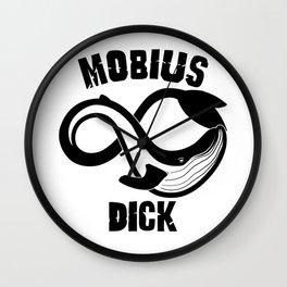 Mobius Dick Wall Clock