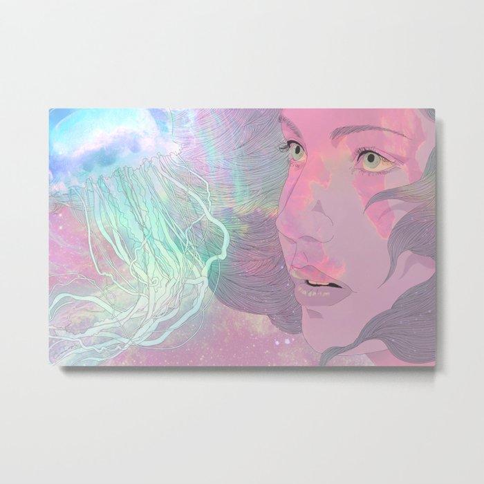 Etherea Metal Print