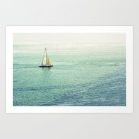sailing Art Prints featuring Sailing by Lawson Images