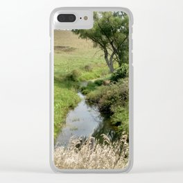 The creek Clear iPhone Case