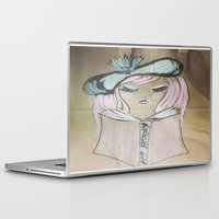 art history Laptop & iPad Skins featuring Pink Ladies: Art History by Amy Burvall