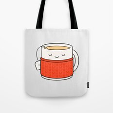 Keep warm, drink tea! Tote Bag