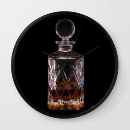 Bourbon in Decanter Wall Clock