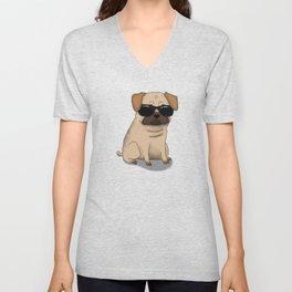 Pug Lyfe Unisex V-Neck