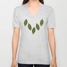 ever green foliage Unisex V-Neck