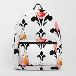 Sunset Splash Pattern Backpack