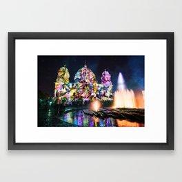 Berlin Cathedral of Lights Framed Art Print