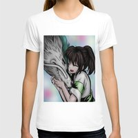 anime T-shirts featuring ilustración anime by paus_12
