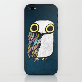 Wise Little Owl iPhone Skin
