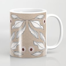 Sketch Leaves Mug