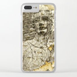 SAW HER STANDING THERE Clear iPhone Case
