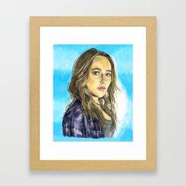Alicia Clark Framed Art Print