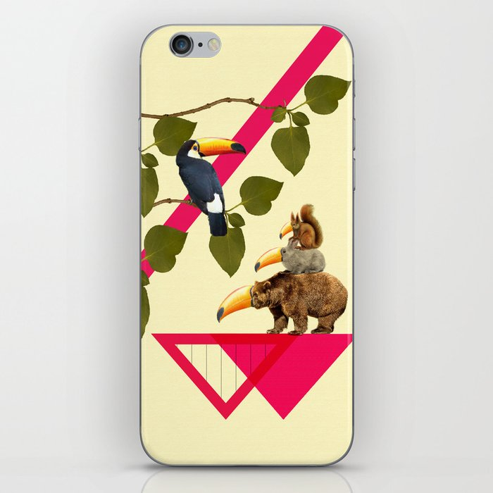everybody would love to be a toucan  iPhone Skin