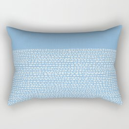 Riverside - Placid Blue Rectangular Pillow