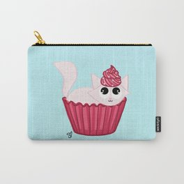 Happy Cat Cupcake Carry-All Pouch
