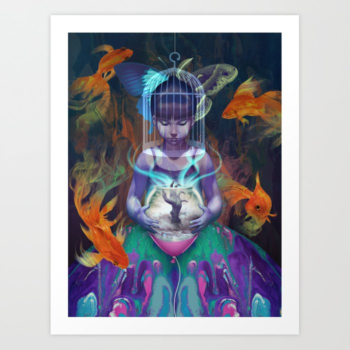 Discover the motif VISION by Stanley Artgerm Lau as a print at TOPPOSTER