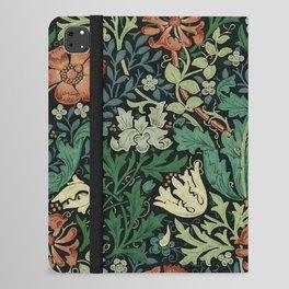 William Morris Compton Floral Art Nouveau Pattern iPad Folio Case