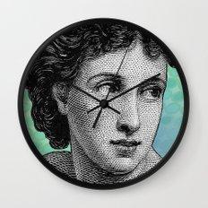Seductress Blue Wall Clock