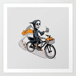 Fall Reaper Art Print