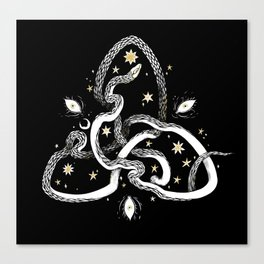 Star Serpent Canvas Print