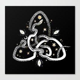 Star Serpent Canvas Print
