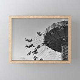 Summer Nights at Navy Pier Framed Mini Art Print